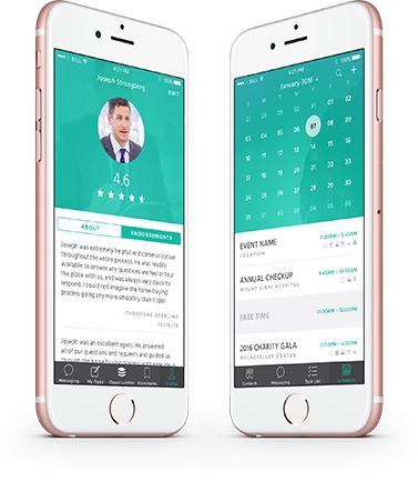 Profile and Calendar app